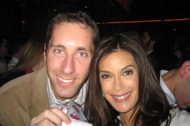 Teri Hatcher and Mr. Yogato